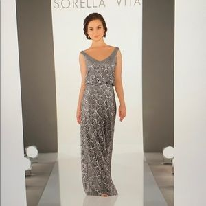Sorella Vita 9062 nouveau sequin in platinum